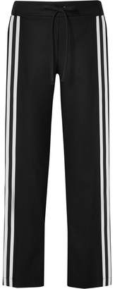 Möve Maggie Marilyn - Make Your Grosgrain-trimmed Organic Wool Track Pants - Black