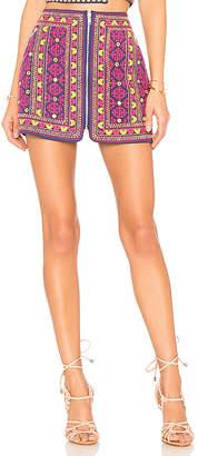 Majorelle Port Skirt