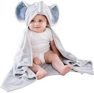 Baby Aspen Little Peanut Elephant Hooded Blanket