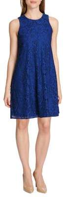 Tommy Hilfiger Prarie Lace Sleeveless Trapeze Dress