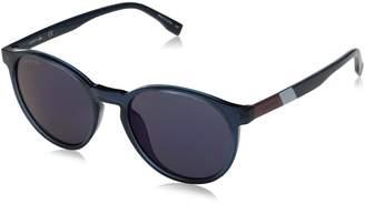 Lacoste Unisex L874s Color Block Round Sunglasses
