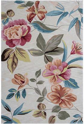 Asstd National Brand Floral Rectangular Area Rug
