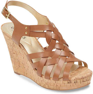 GUESS Eppie Wedge Sandal - Women's