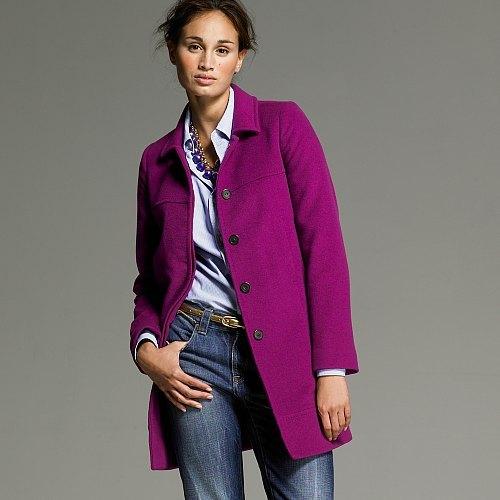 Italian cashmere Astor coat