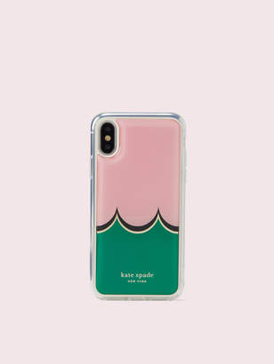Kate Spade scallop hands-free iphone x & xs case
