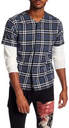 Religion Mace Short Sleeve V-Neck Shirt