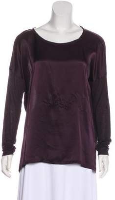 Vince Knit Long Sleeve Top