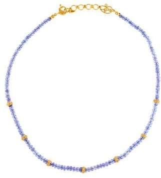 Coomi 20K Tanzanite & Diamond Bead Strand Necklace