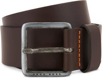 BOSS Men's Jeeko Casual Leather Belt
