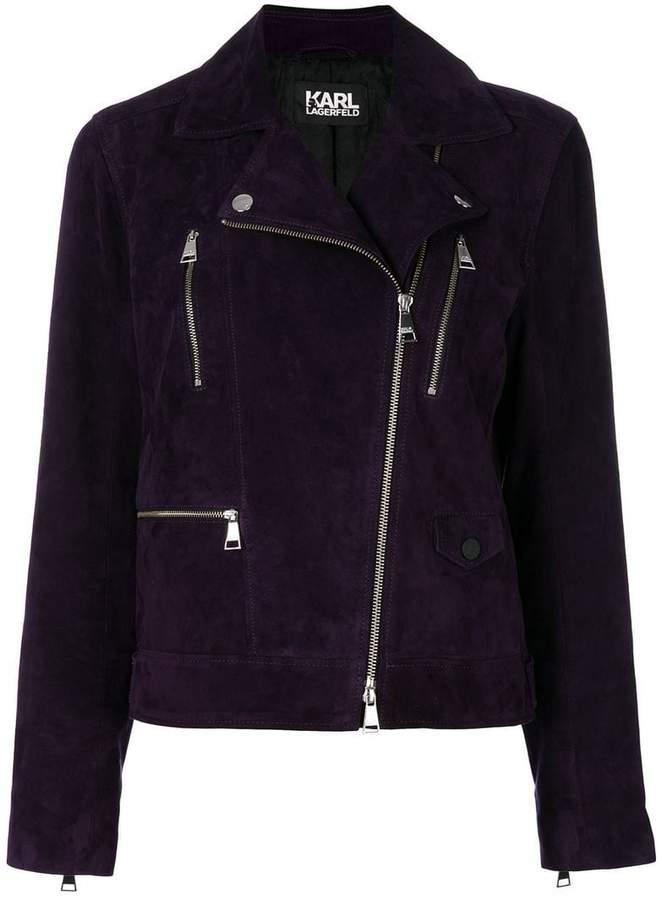 Karl Lagerfeld Odina biker jacket