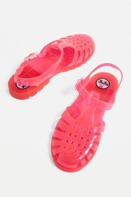 7d536f8eba99 Pink Jelly Sandals - ShopStyle UK