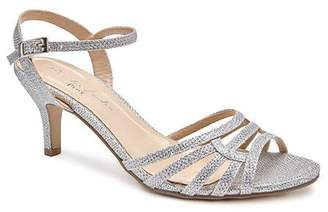 04b17a2de6e Paradox London Pink Laurie Wide  E  Fit Glitter Sandals with Ankle Strap