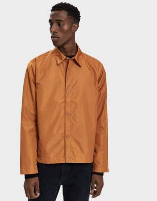 Norse Projects Svend Nylon Oxford Jacket in Oxide Orange