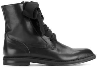 A.F.Vandevorst lace-up detail ankle boots