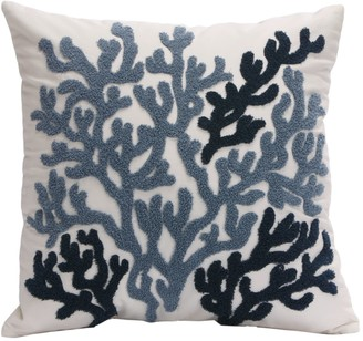 Hh HH Beach House Embroidered Decorative Pillow
