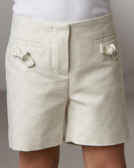 Chloe Bow Shorts, Size 14