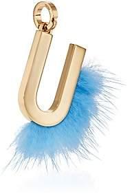 Fendi Women's ABClick U Bag Charm - Gold