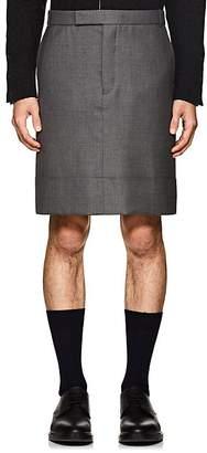 Thom Browne Men's Wool Knee-Length Skirt