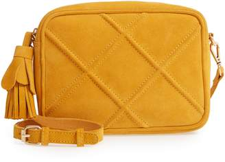 Leith Quilted Leather Crossbody Bag