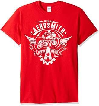 FEA Men's Aerosmith Train Kept a Rollin T-Shirt