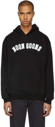 Noon Goons Black Varsity Logo Hoodie