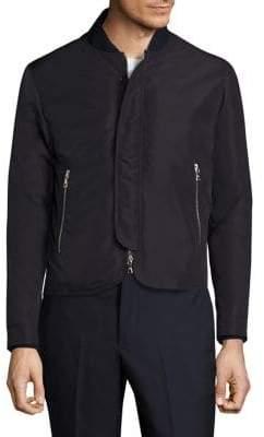 Officine Generale Zip-Front Bomber Jacket