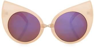 Topshop Serena Cateye Sunglasses
