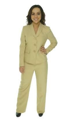 Le Suit LeSuit Womens Boboli Gardens Business Suit Jacket & Pant Set