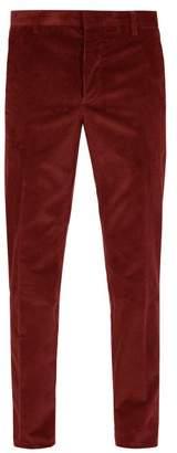 Prada - Corduroy Trousers - Mens - Red