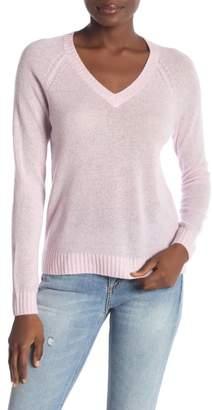 Minnie Rose Cashmere V-Neck Pullover