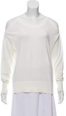 J Brand Oversize Cold-Shoulder Sweater