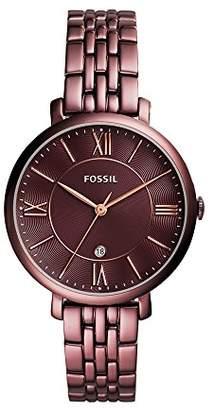 Fossil Women's Jacqueline Quartz Stainless Steel Dress Watch