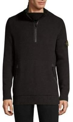 Stone Island Half Zip Sweater