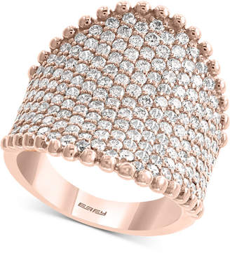 Effy Diamond Pave Statement Ring (2-1/2 ct. t.w.) in 14k Rose Gold