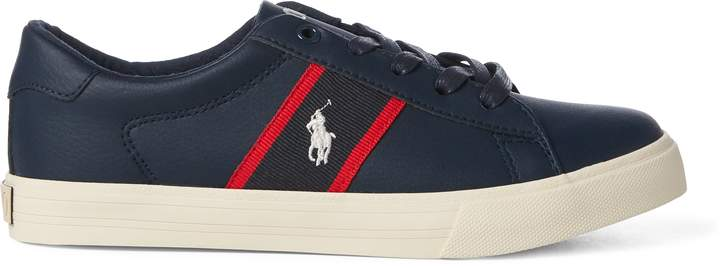 Ralph Lauren Geoff Faux-Leather Sneaker