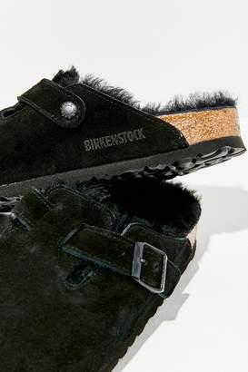 Birkenstock Shearling Boston Clog