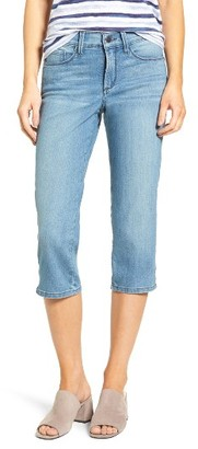 Women's Nydj Marilyn Stretch Slim Crop Jeans $88 thestylecure.com