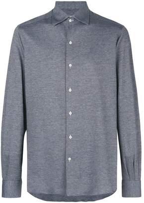 Orian textured button shirt