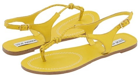 Steve Madden Synapse (Yellow Leather)