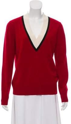 Veronica Beard Cashmere Rib Knit Sweater