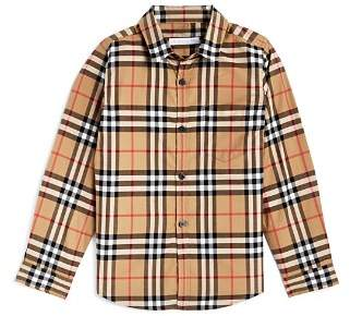 Burberry Boys' Fred Vintage Check Shirt - Little Kid, Big Kid
