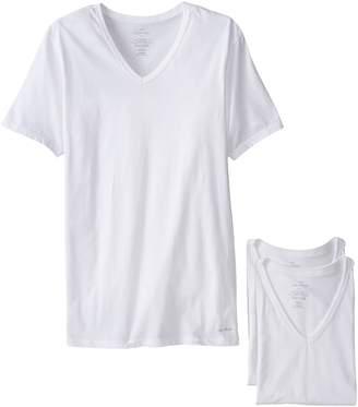 Calvin Klein Men's 3-Pack Cotton Classics Slim Fit V-Neck T-Shirt