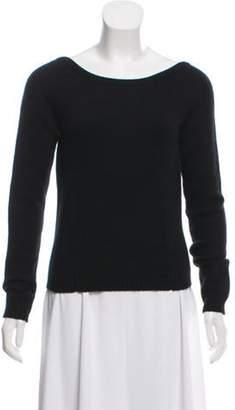 Derek Lam Cashmere Scoop Neck Sweater Black Cashmere Scoop Neck Sweater