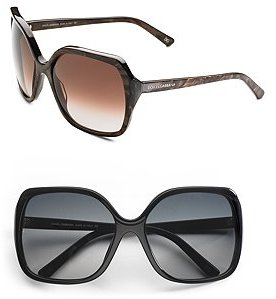 Dolce & Gabbana Large Square Sunglasses