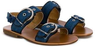 Gallucci Kids flat buckle sandals