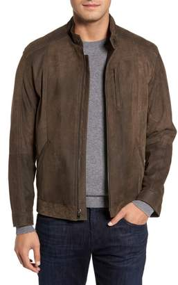 Moto Remy Leather Suede Jacket