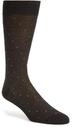 Men's Pantherella 'Vintage Collection - Spiral Bird's Eye Box' Merino Wool Blend Socks $30 thestylecure.com
