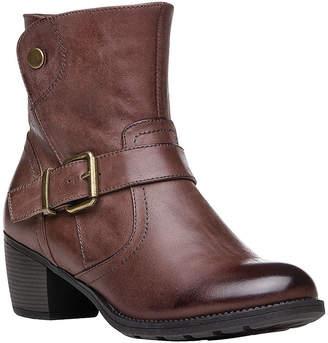 Propet Womens Tory Dress Boots Stacked Heel Zip