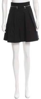 Karen Millen Paneled Mini Skirt $80 thestylecure.com