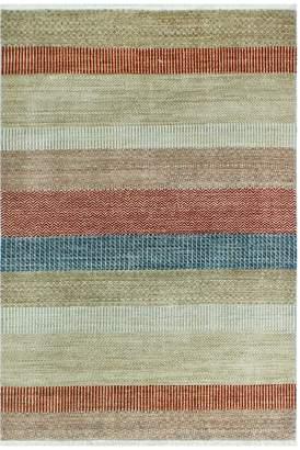 Walton Noori Rug Fine Grass Muminah Hand-Knotted Wool Rug